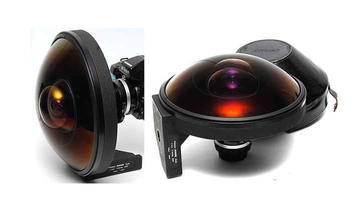 Nikon 6mm f/2.8 Fisheye Lens: 160,000 $