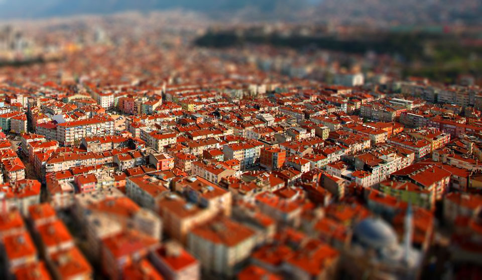 Photo of Photoshop ile  Minyatürleştirme (Tilt-shift)