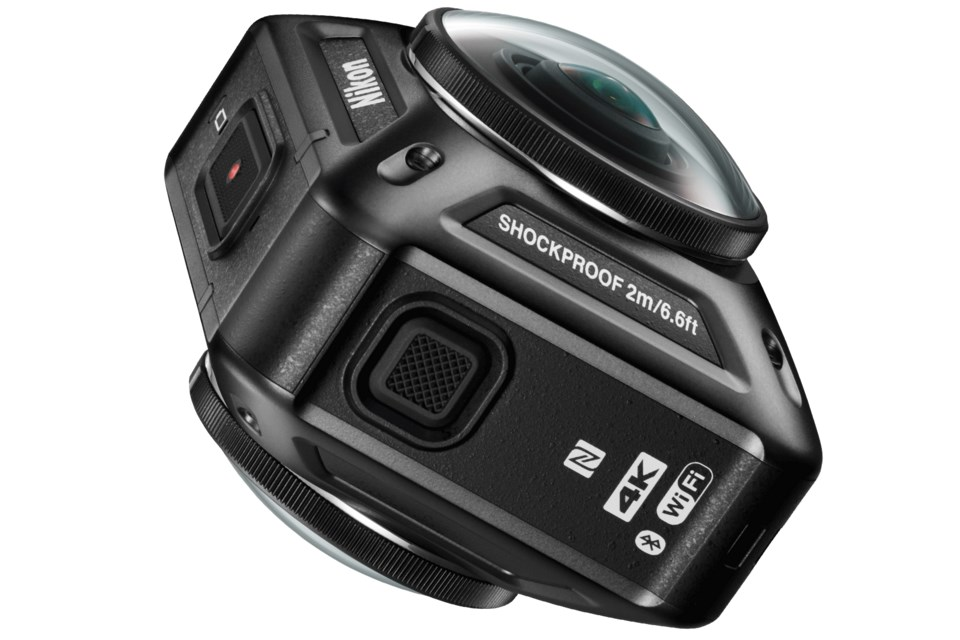 Nikon'dan 360 derecelik action camera